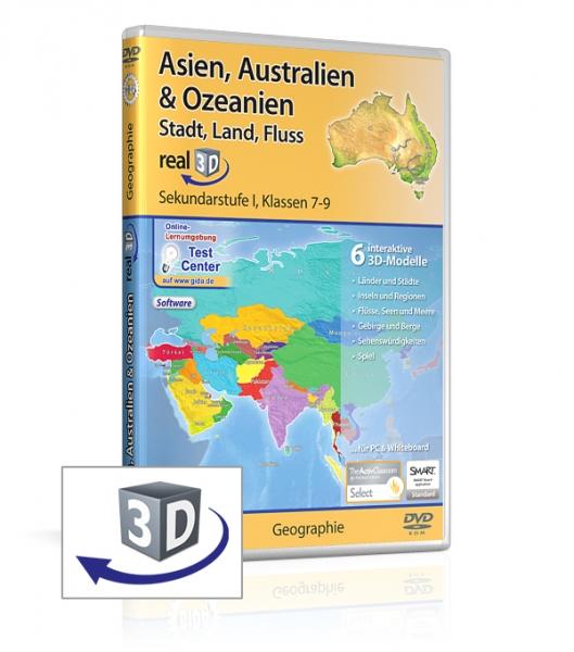 Asien, Australien & Ozeanien - Stadt, Land, Fluss