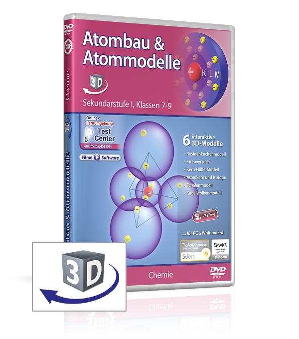 atombau atommodelle software chemie fachbereiche gida. Black Bedroom Furniture Sets. Home Design Ideas