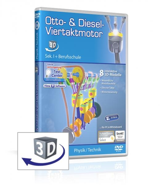 Otto- & Diesel-Viertaktmotor
