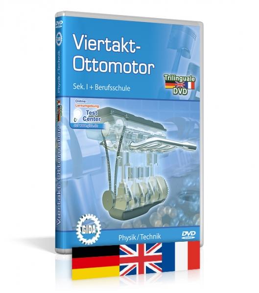 Viertakt-Ottomotor - Trilingual
