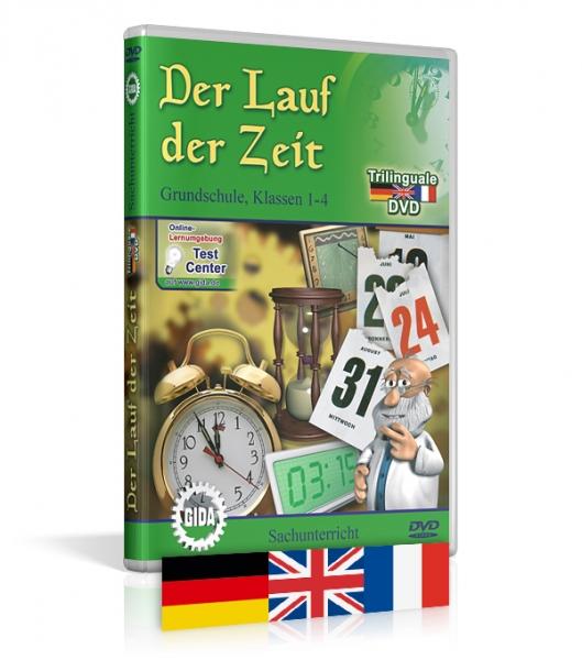 Der Lauf der Zeit - Trilingual