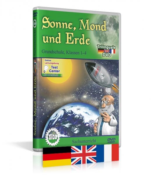 Sonne, Mond und Erde - Trilingual