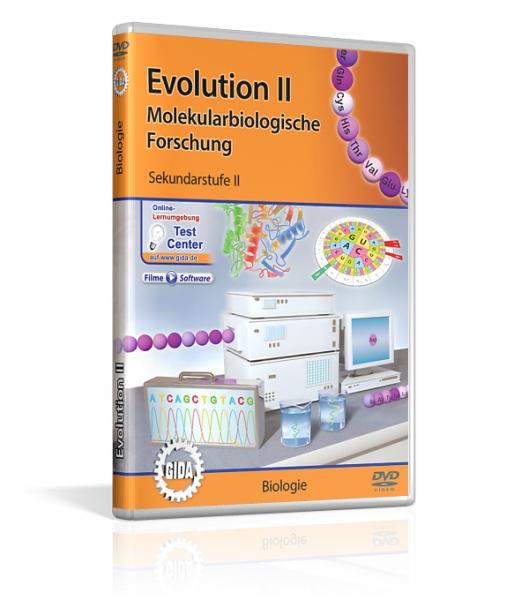 Evolution II - Molekularbiologische Forschung