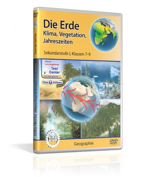 Erde - Klima, Vegetation, Jahreszeiten