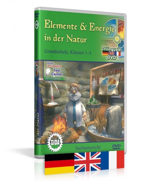 Elemente & Energie in der Natur - Trilingual