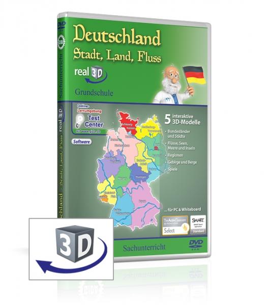 Deutschland - Stadt, Land, Fluss