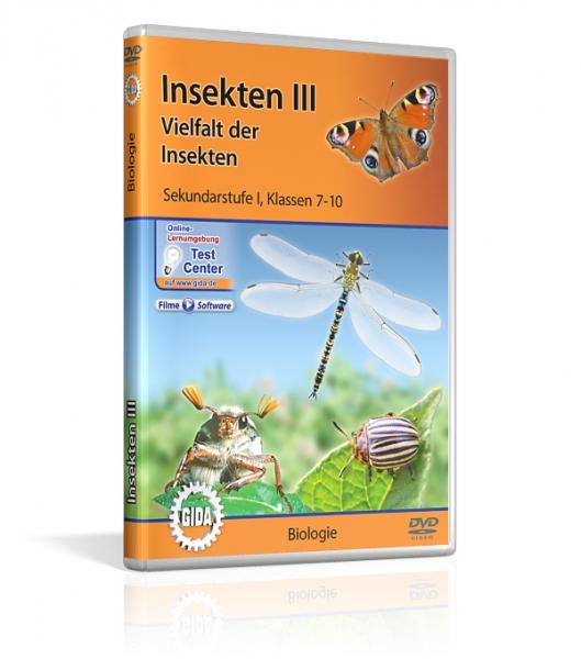 Insekten III - Vielfalt der Insekten