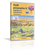 Stadtgeographie III - Stadttypen in Kulturräumen - Schulfilm (DVD)